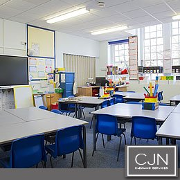 School and educational facility cleaning
